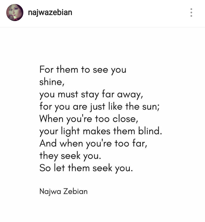 14 Short Poems By Najwa Zebian That Will Lit Up Your Life Again