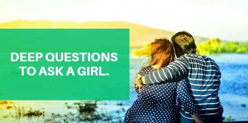 questions to ask a woman online dating I have been dating a girl for the past 2 months, i am looking to start getting into a deeper level of self disclosure with her in my mind it seems easy but when i try and think of questions to ask to start deeper conversations i get hung up.