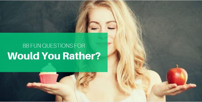 The Hardest Would You Rather Questions on The Internet