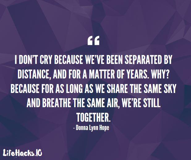 Distance And Time Quotes: Lets Get Past The Distance Relationship Relationship Love